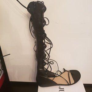 Ladies gladiator sandals